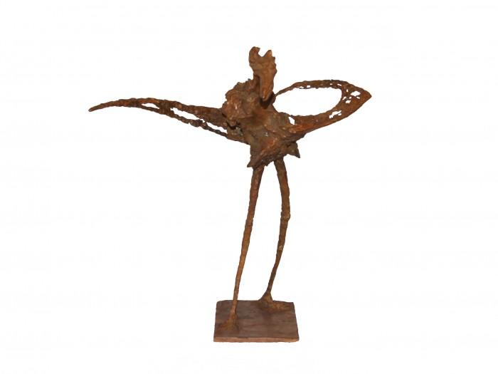 Echassier bizarre - H. 37 cm