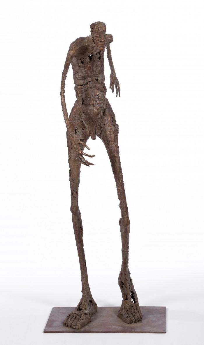 Voyageur immobile - H. 73 cm