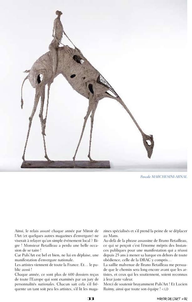 Miroir de l'art n°82 page 33