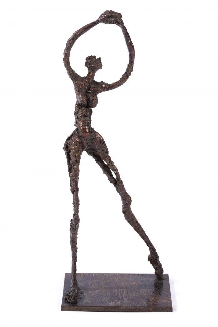 Danseuse décadente - H. 27 cm