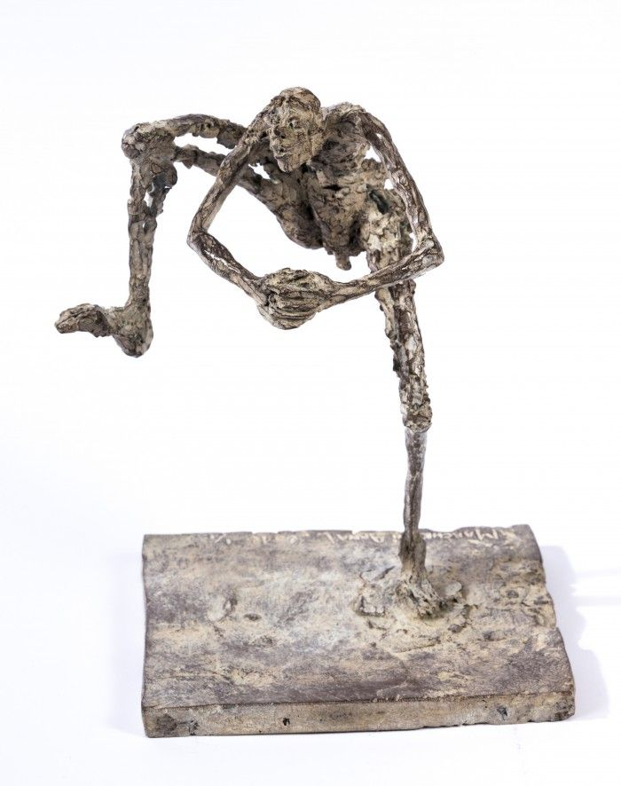 Danse ethnique - 4 - H. 19 x 12 x 12cm