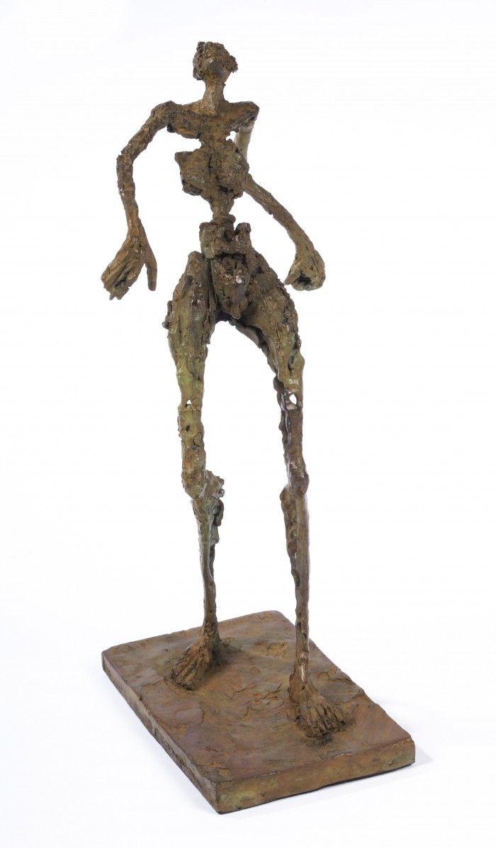 Petit promeneur - H. 23 cm