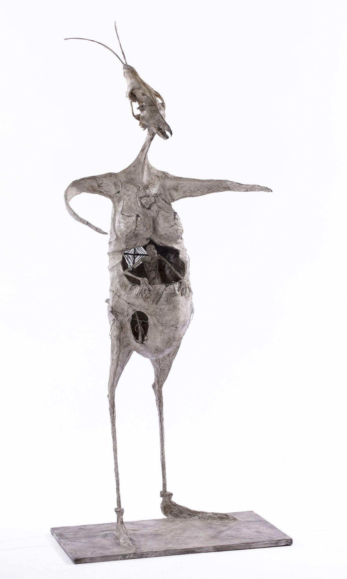 Pouloptère en bottines - H. 90cm