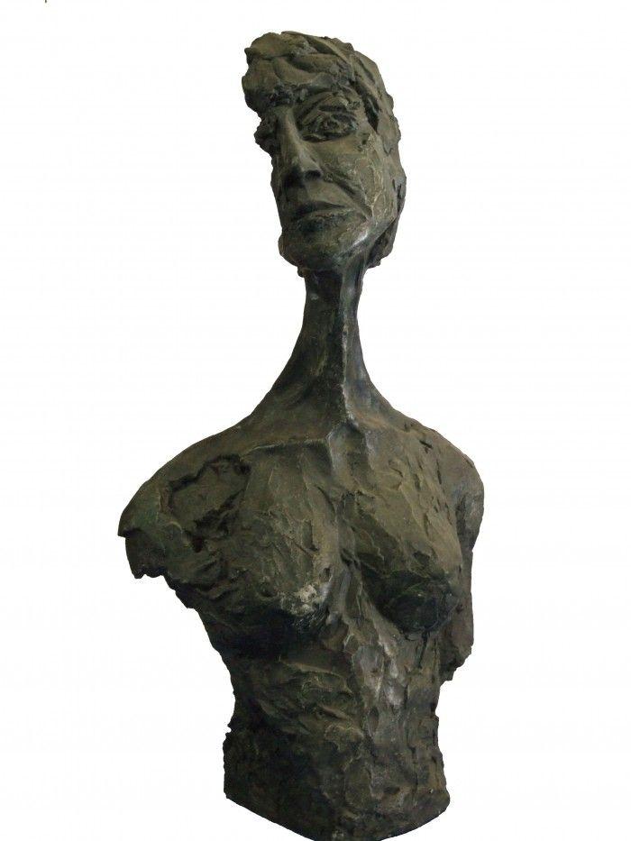Autoportrait - 5 - Résine - H. 59