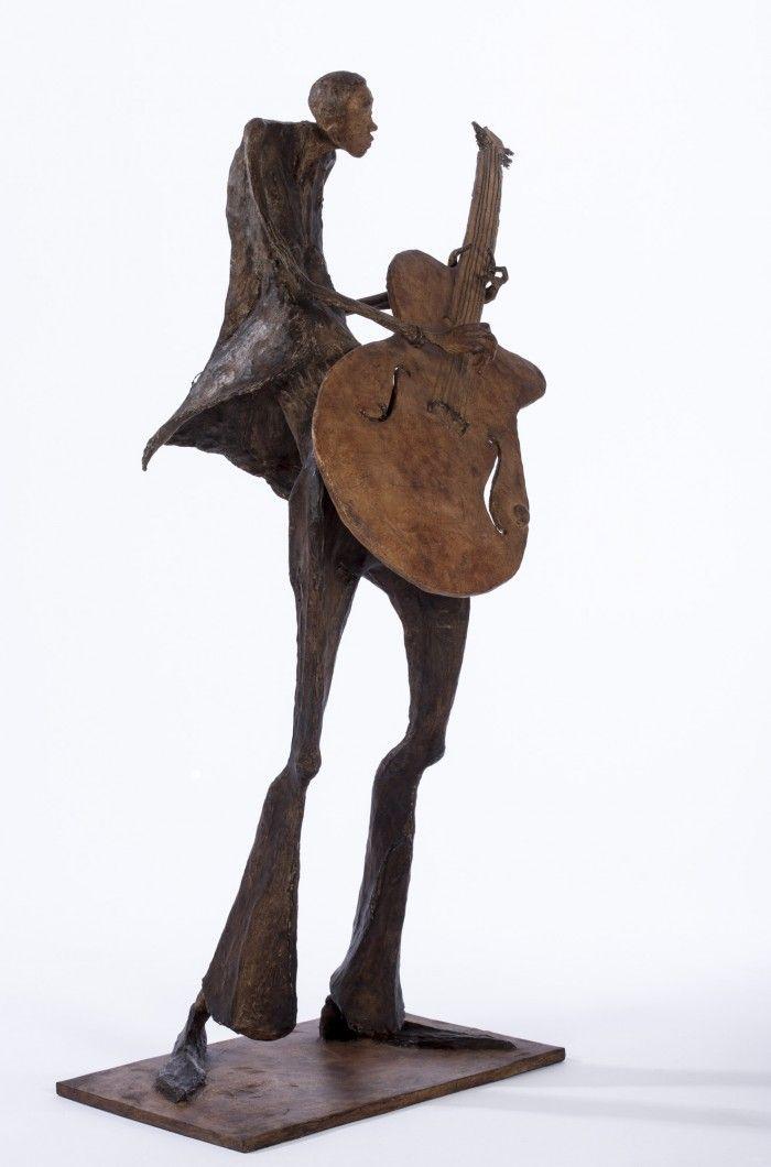 Le guitariste - H. 97 cm