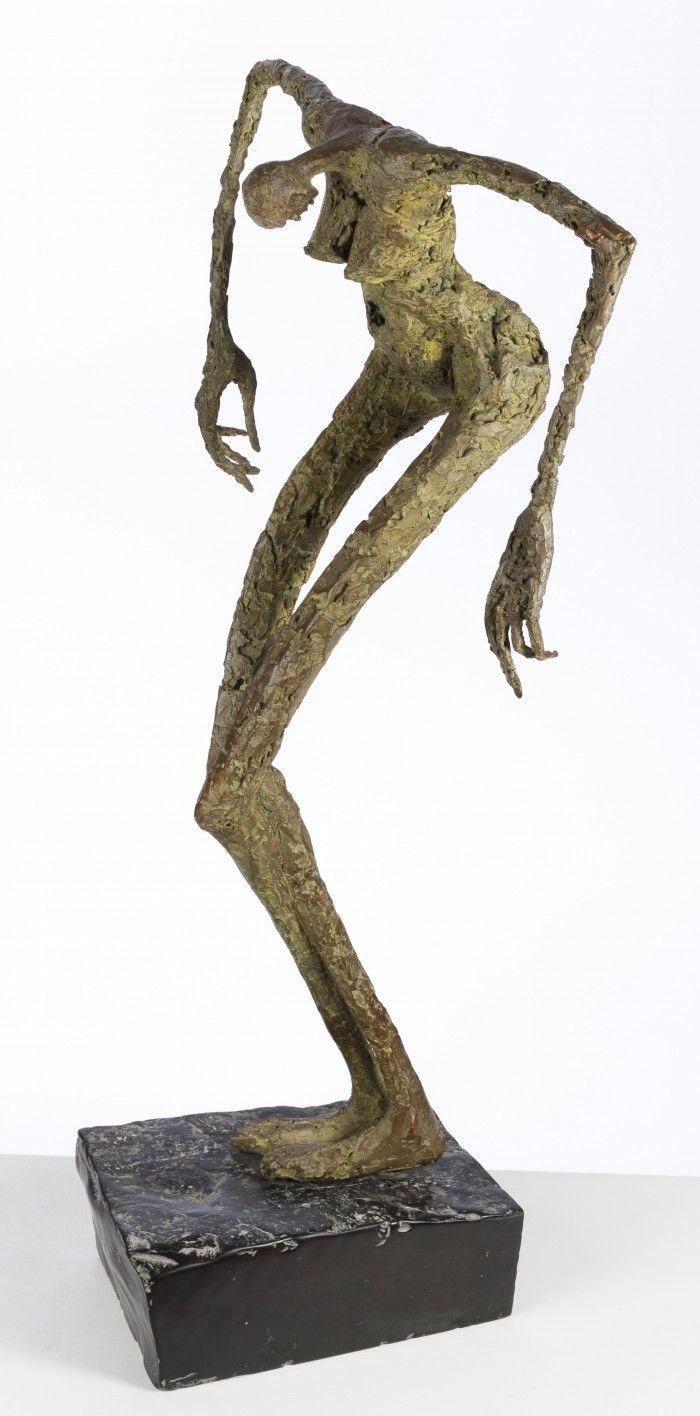 Crucifixion - Hommage à Lydie Aricks - H. 71 cm