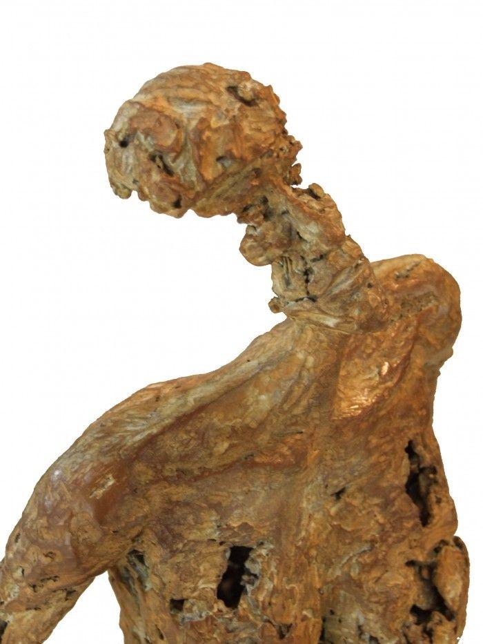Autoportrait en pied - Détail