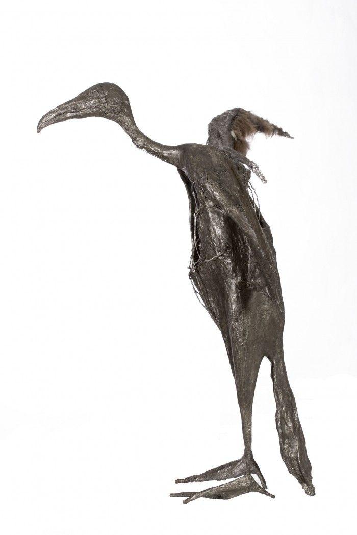 Le vautour - H. 80 cm
