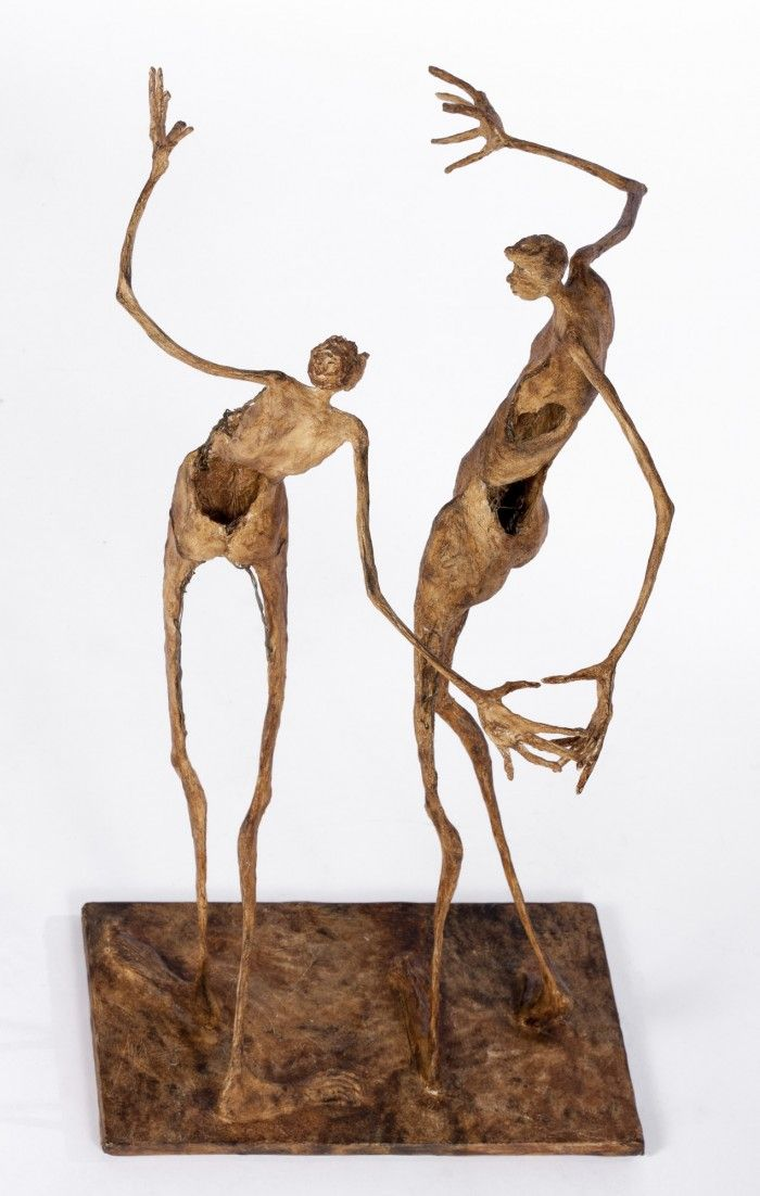 Danser ensemble - H. 47 cm