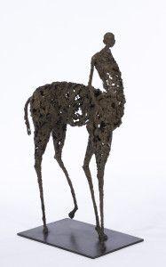 Le centaure - H. 59 cm