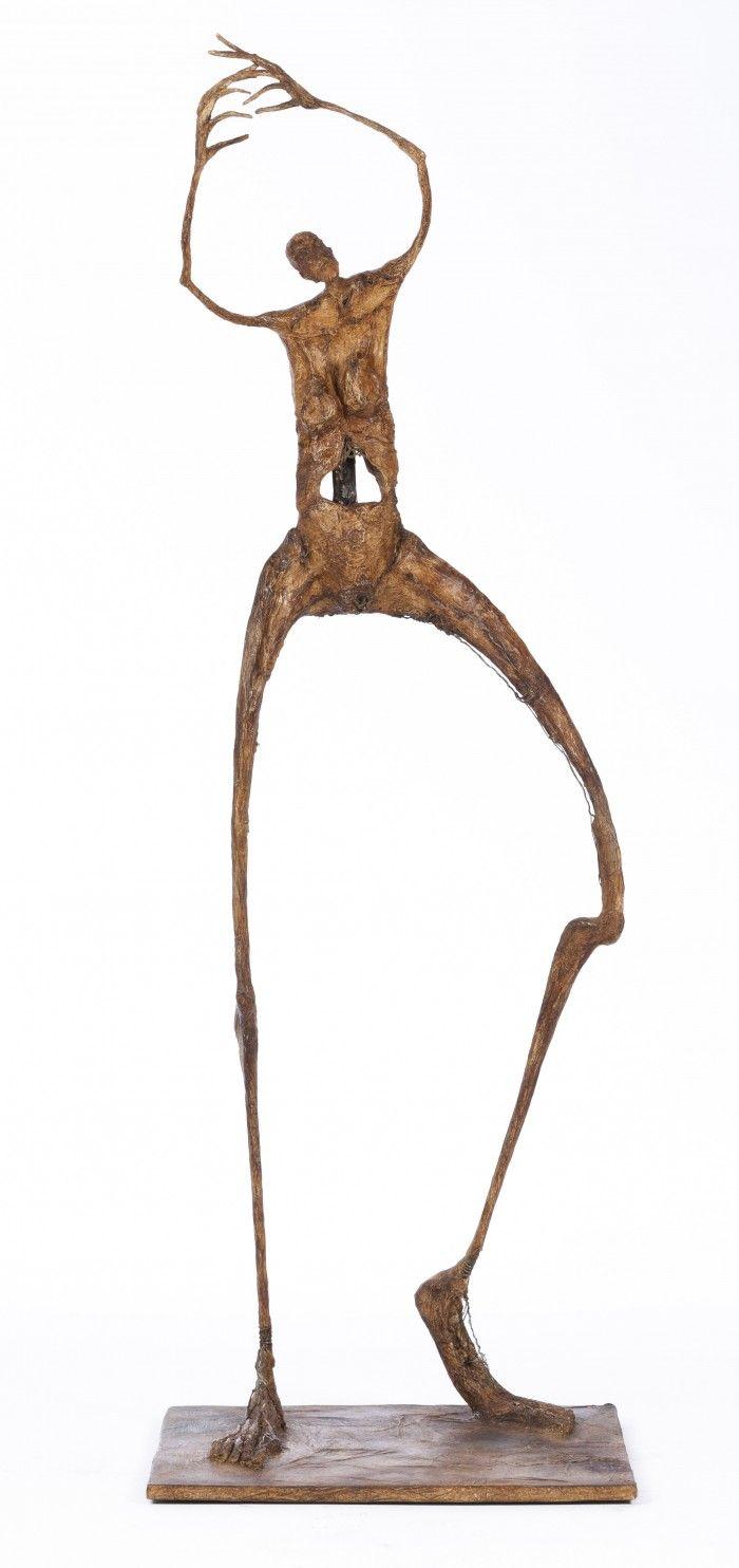 Danse du cygne - H. 96 cm