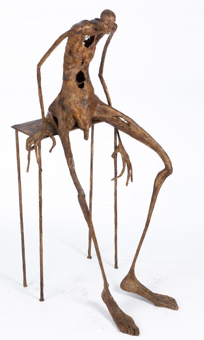 Le vieillissant - H. 85 cm