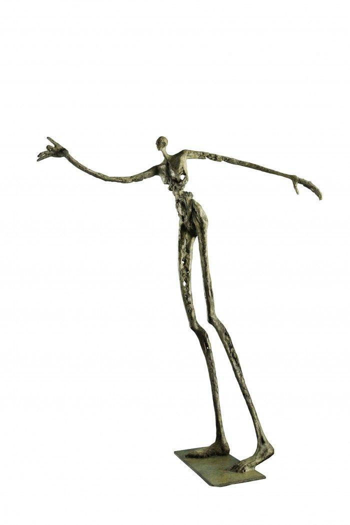 Le funambule - H. 65 cm