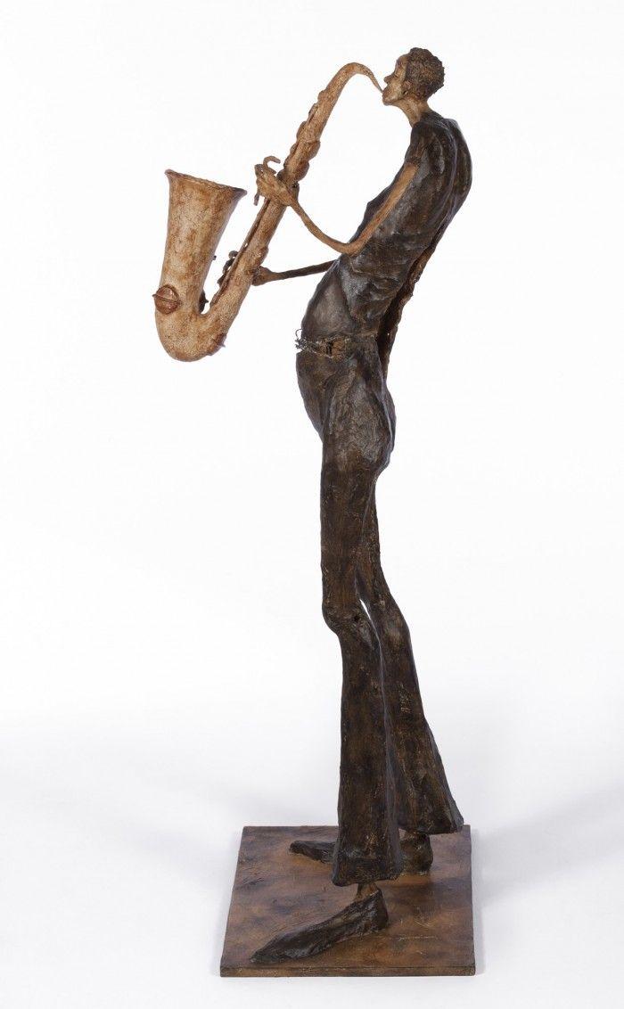 Le saxophoniste - H. 1m