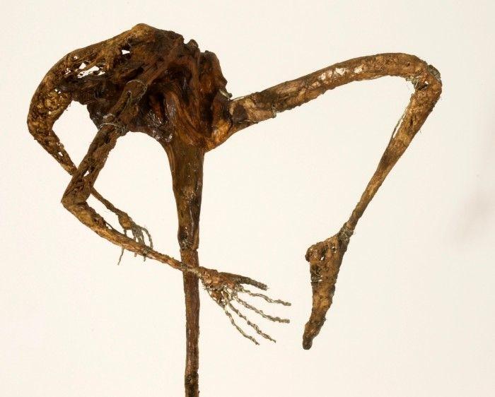 La danseuse - 4 - Plâtre et bois - H. 72 cm