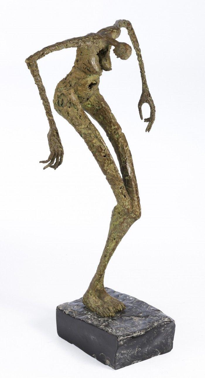 Crucifixion - Hommage à Lydie Aricks - H. 71cm