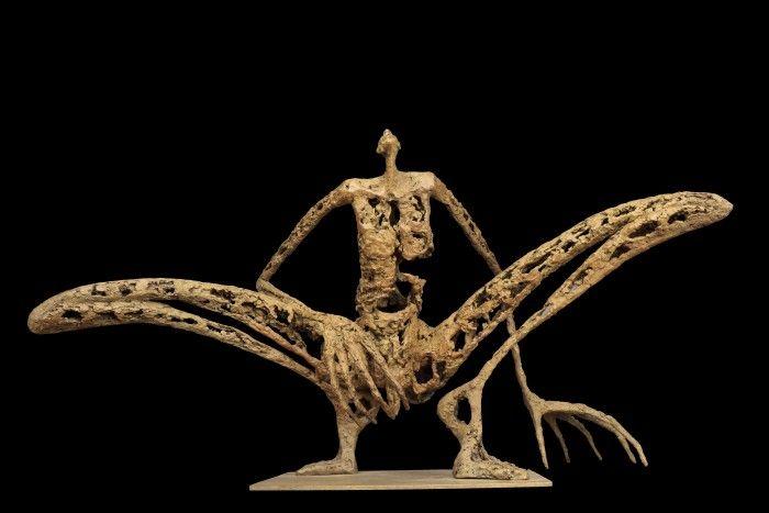 L'homme sauterelle - 3 - H. 36 cm