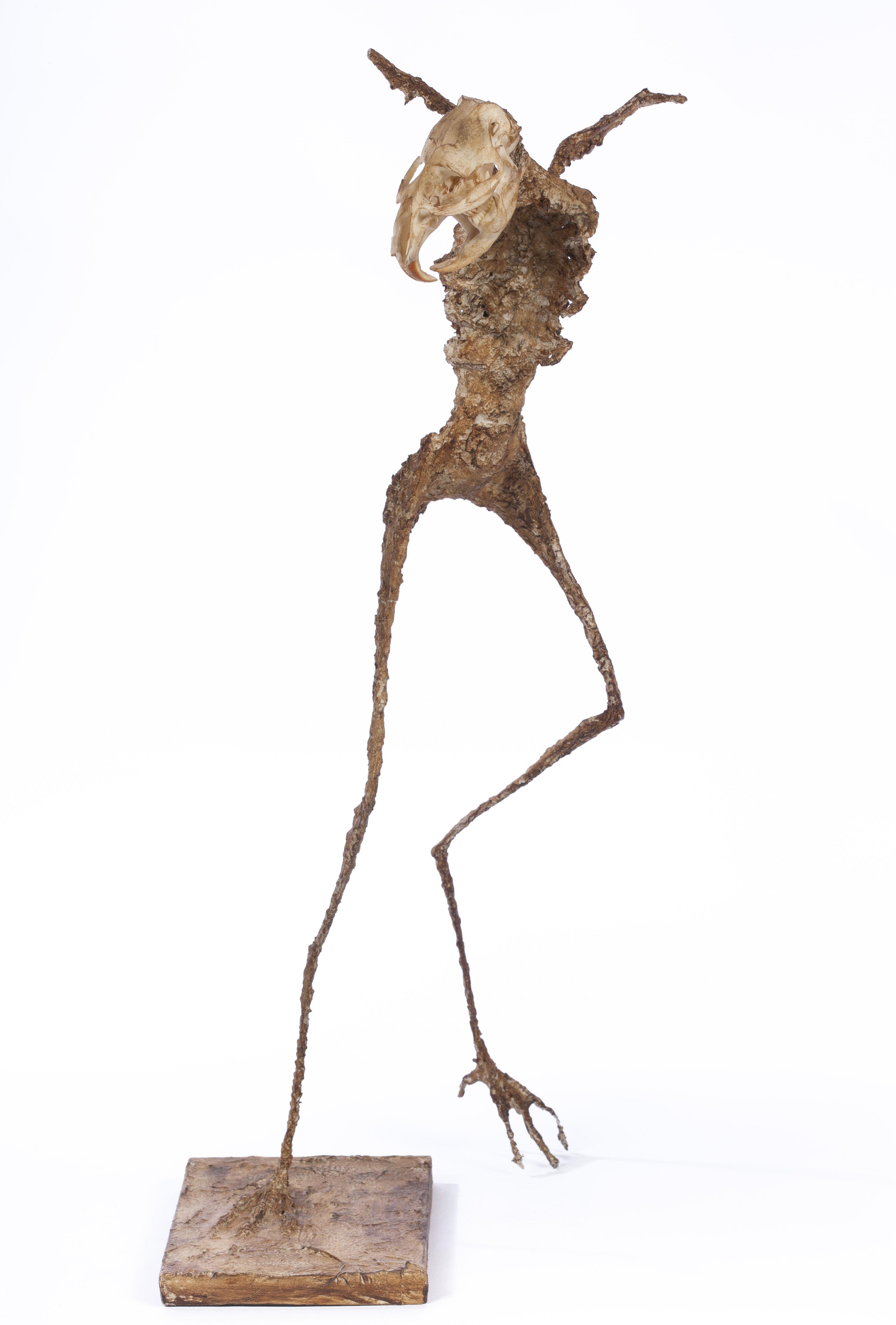 Volatile éperdu et improbable - H. 42 cm