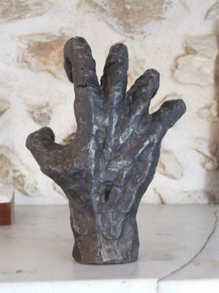 Derniers instants - Résine - H. 24 cm