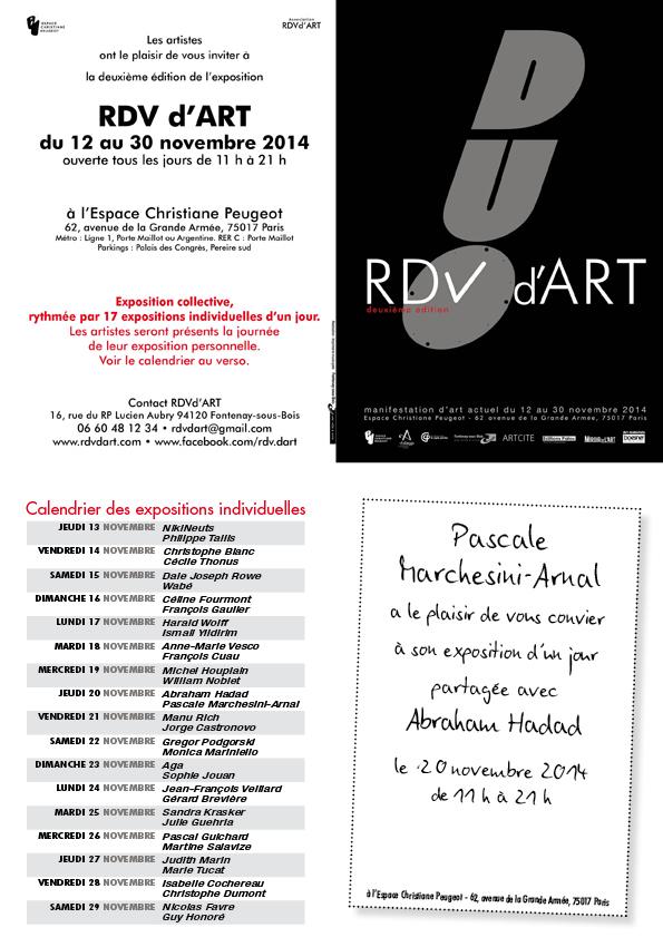 RdV d'Art 2014 - Abraham et Pascale